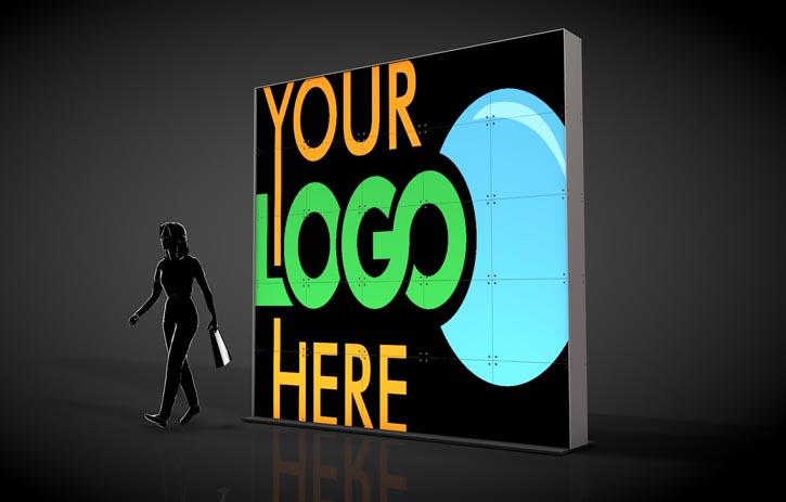 Custom Logo | Rental Backdrops & Rental Decor from Atomic Design