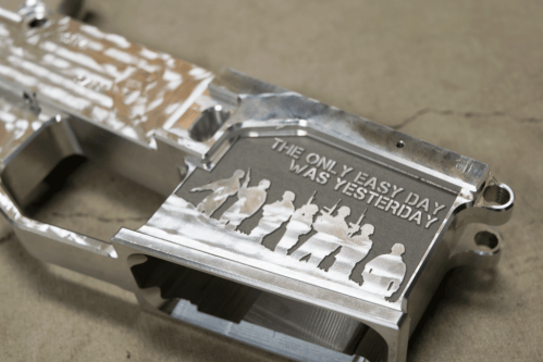 Only Easy Day Billet Engraved Lower