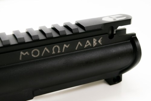 Forged Custom AR15 Upper Receiver Molon Lane