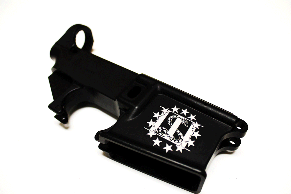 Custom 3% Engraved AR15 80% Lower