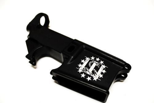 Custom 3% Engraved AR15 80% Lower