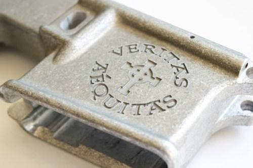 80% forged lower custom laser engraved