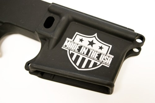 MAADE IN THE USA custom engraved AR15 Lower