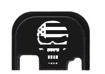 All American Engraved Punisher Logo Engraving