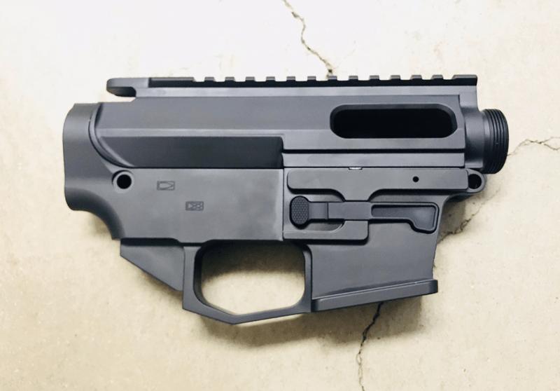 ar15 80 9mm dp 9 glock mag lower upper receiver set atomic