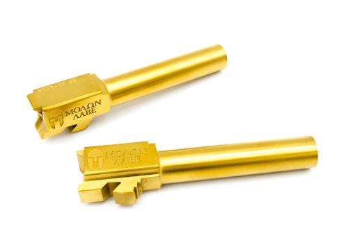Custom Glock Barrels TIN coated