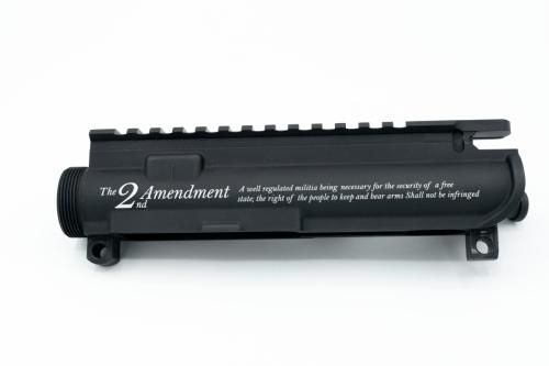 AR15 Custom engraved Upper Receiver