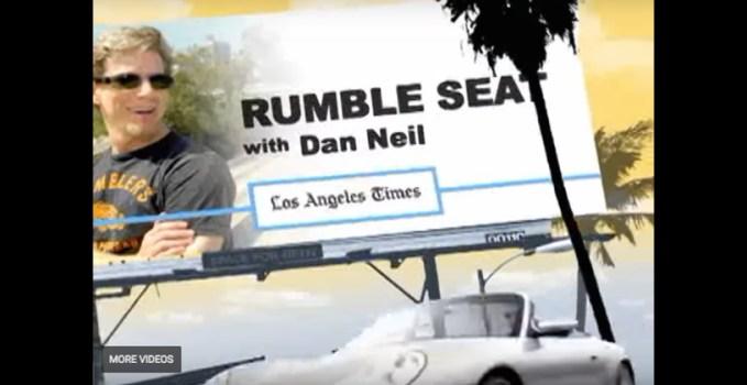 Dan Neil Rumble Seat