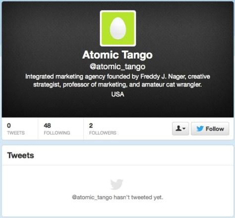Another fake Atomic Tango profile