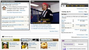 Yahoo Sports 2011 screengrab (click to enlarge)