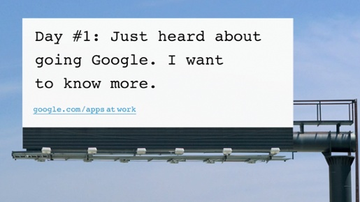 Google Billboard Ad