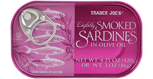 Trader Joe's Smoked Sardines