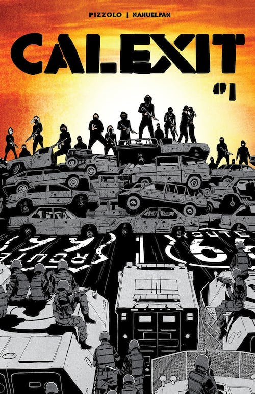 CALEXIT #1 Cover A