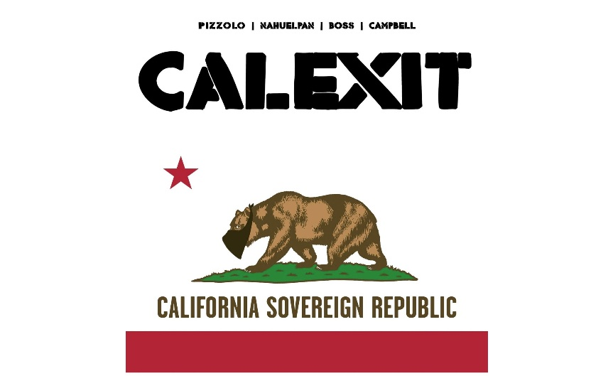 Resist! One Page At A Time: The CALEXIT Comic Book