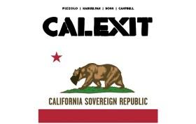 CALEXIT Comic logo