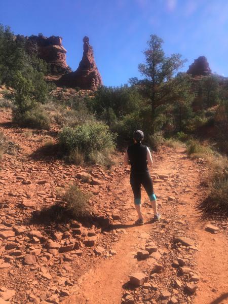 Happy trails in Sedona, Arizona
