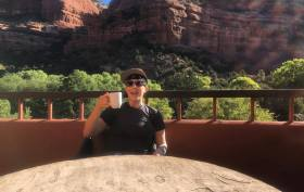 Kim Tronic in Sedona, Arizona