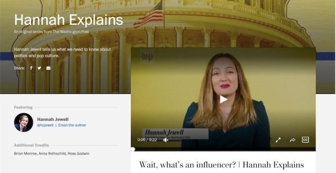 Hannah Jewell Washington Post
