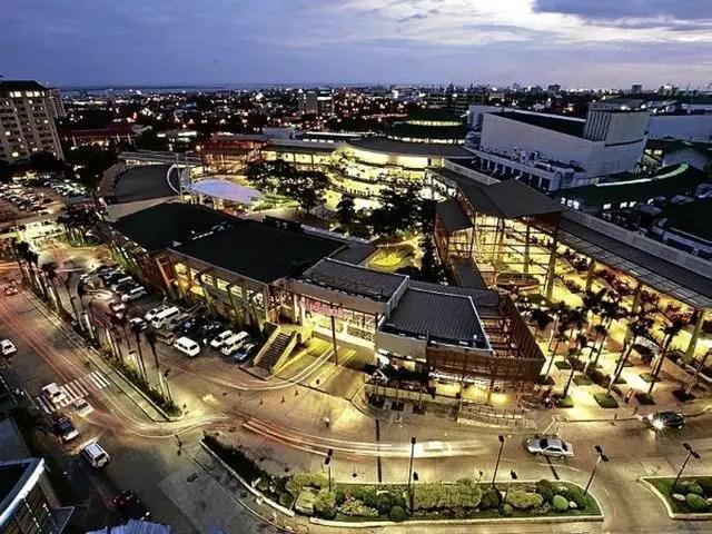 Ayala Center Cebu's Aerial View