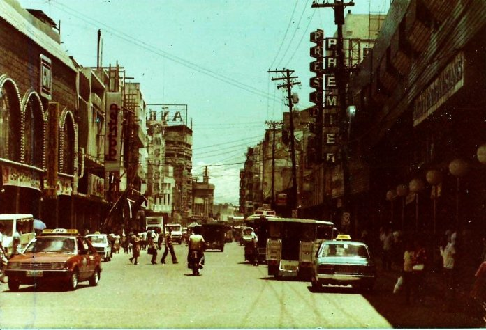 Old Image of Colon Street way back in the year 1979