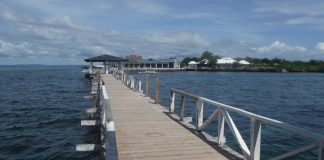 Beautiful Entry Way to Gilutongan Island