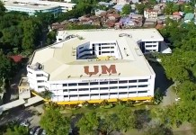 University of Mindanao Aerial View