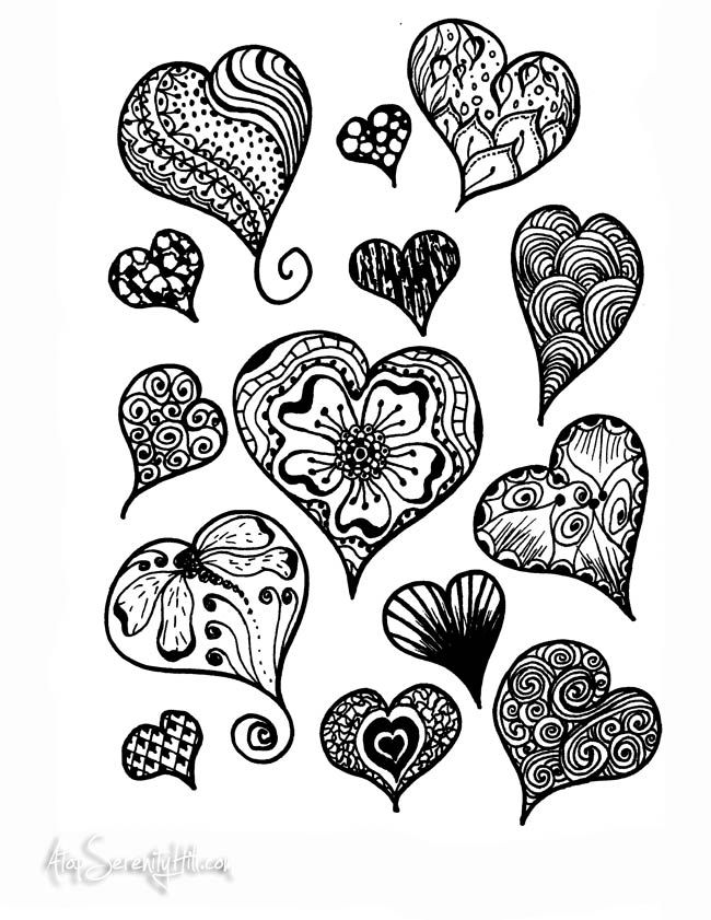 Afternoon Coloring Pages