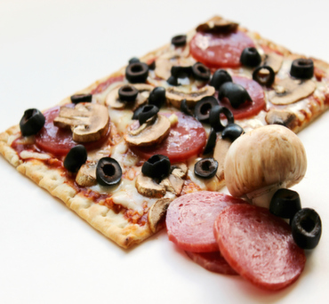 Pepperoni and Mushroom Lavash Pizza