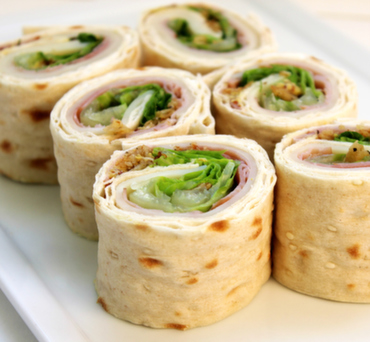 Ham & Swiss Lavash Wrap