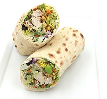 Chinese Chicken Salad Lavash Wrap