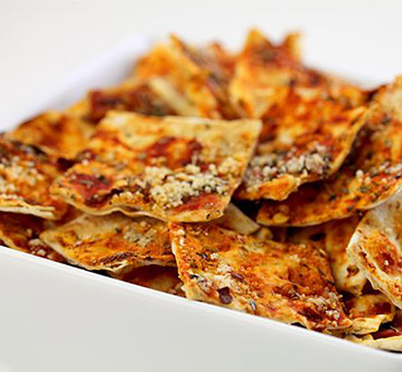 Lavash Pizza Crackers