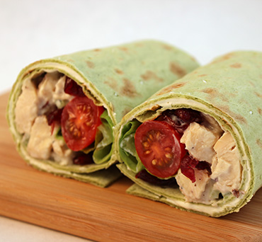 Chicken Salad Lavash Wrap