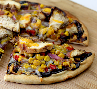Southwest Naan Pizza