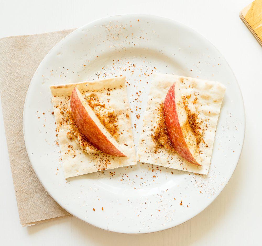 Apple and Yogurt Lavash Bites