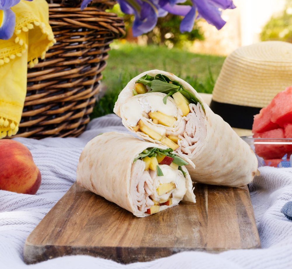 Turkey Apple Lavash Wrap