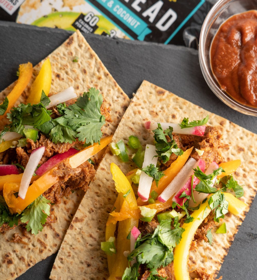 Pulled Pork Tacos with Veggies