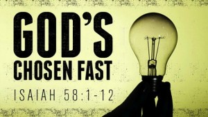 Christian fast - God's Chosen Fast