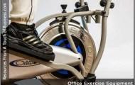 image of someone exercising on an orbital bike