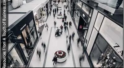 Image of a shopping mall