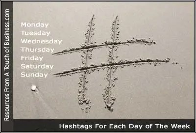 Image of A Hashtag in the sand