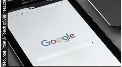 Image of Google home page on a phone