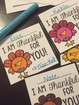 Thanksgiving Printables For Your Students