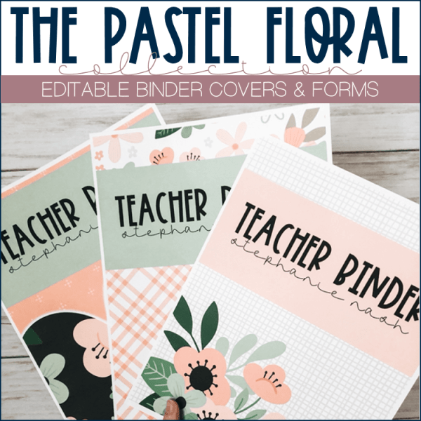 Binder Covers Template Examples