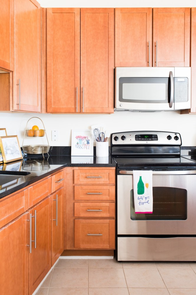 Apartment Kitchen Decor Ideas 17 A Touch Of Teal