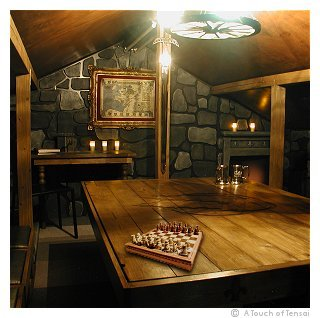 Medieval Games Room Loft Conversion Interior Design  Fukuoka  JapaneseEnglish interior