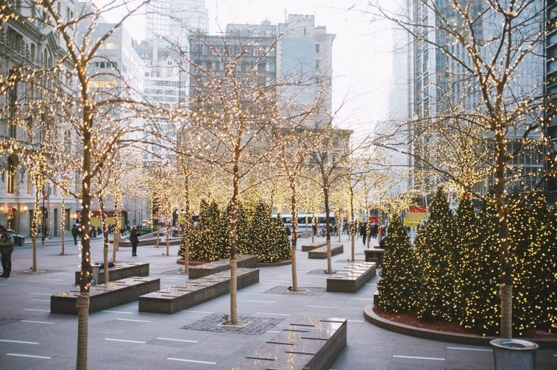 New York Christmas Time.Christmas Time In New York City A Touch Of Tulle