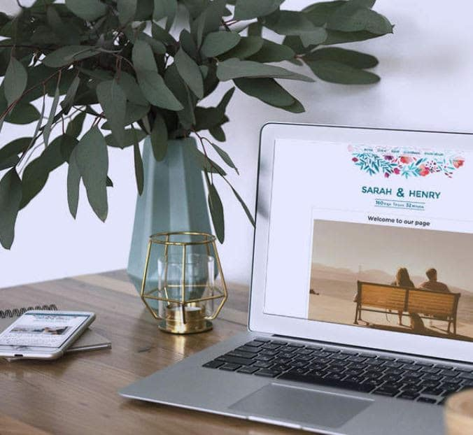 Idées cadeaux pour les mariés. Liste de mariage en ligne