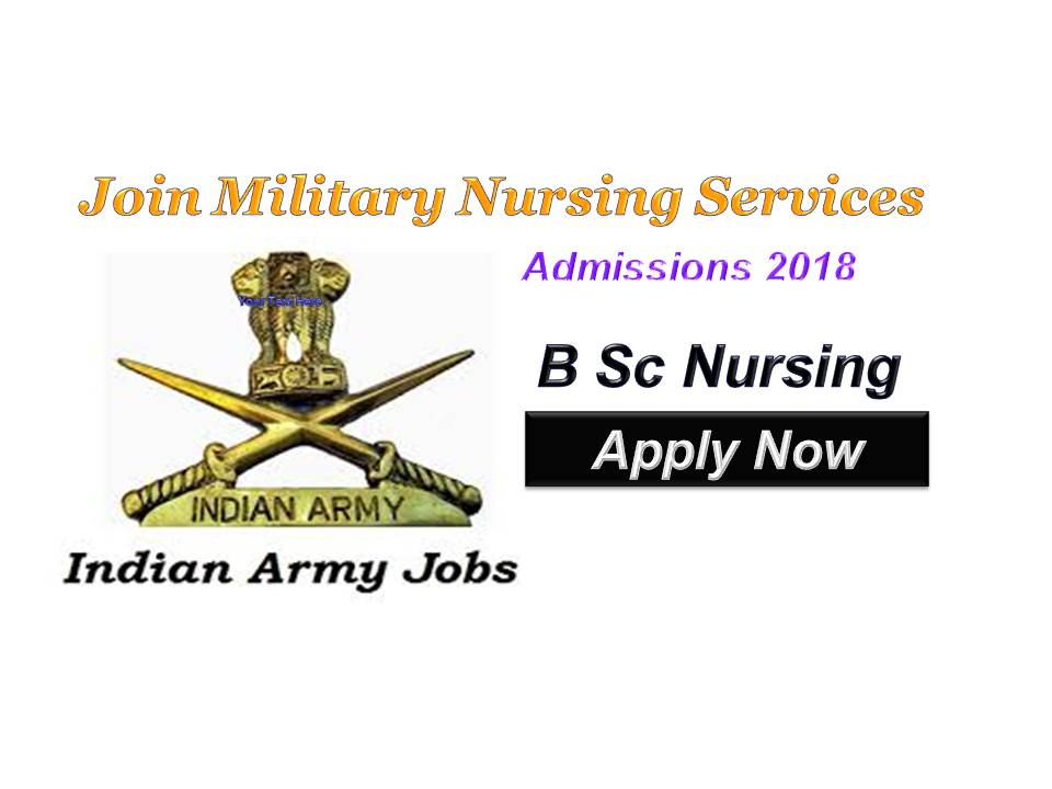 Join Indian Army Military Nursing Service