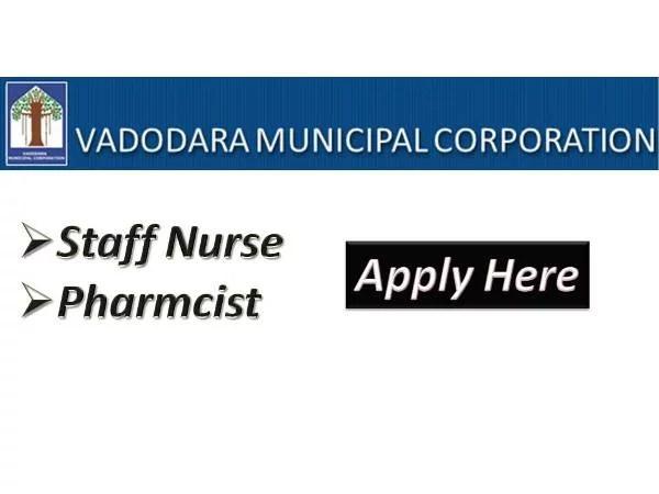 Vadodhara Muncipal Corporation Gujarat