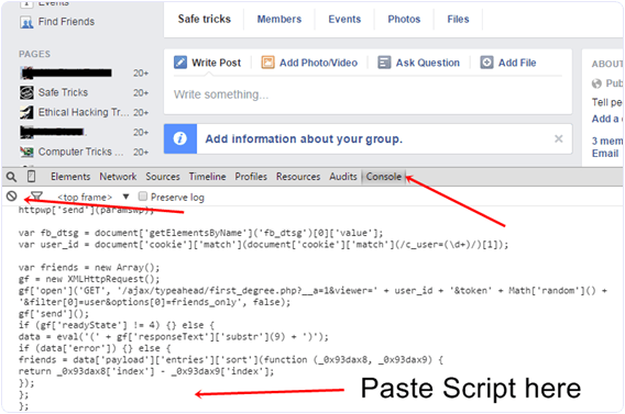 add-all-friends-to-facebook-group-script-code